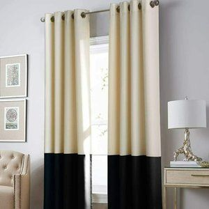 Curtainworks Kendall Colorblocked Grommet Curtain